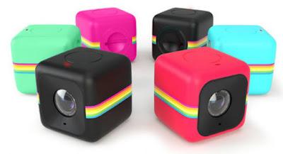 videocamera polaroid cube+