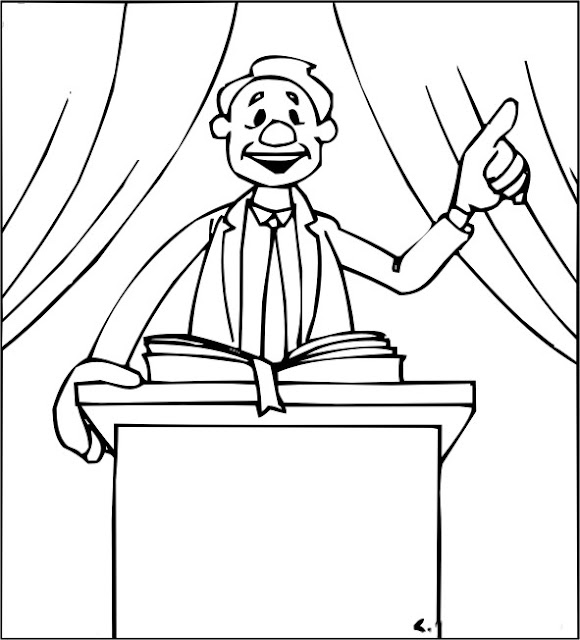 Pastor Appreciation Coloring Pages