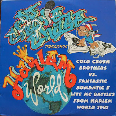 Cold Crush Brothers / Fantastic Romantic 5 ‎– Cold Crush Brothers Vs. Fantastic Romantic 5 (Live Mc Battles From Harlem World 1981) (CD) (1998) (192 kbps)
