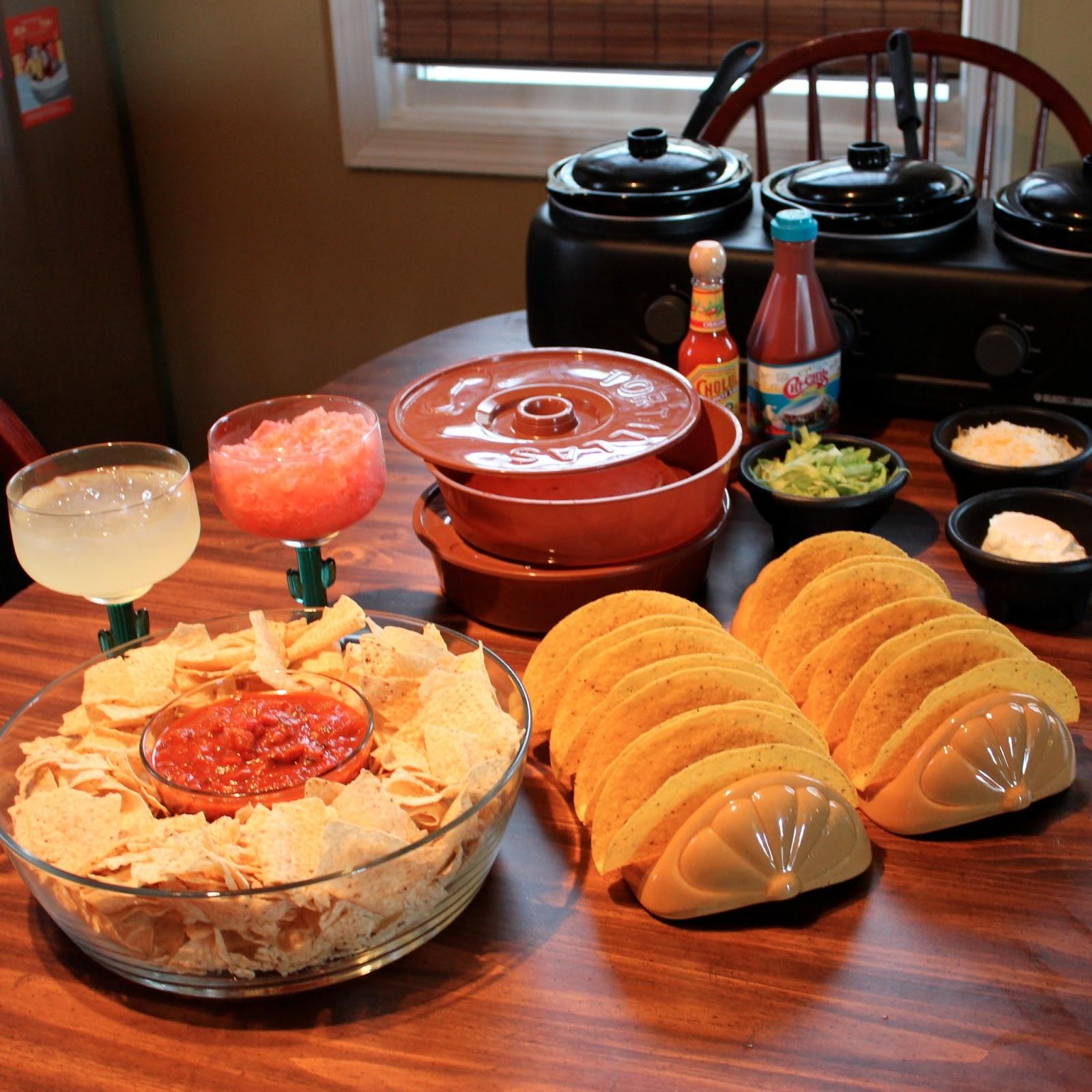 cinco de mayo fiesta at home taco night ideas dana renee style
