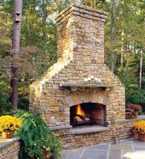 Xardinnova crear chimeneas y hogueras exteriores - Chimeneas de exterior ...
