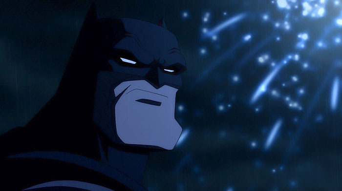 Batman en  el regreso del caballero Oscuro