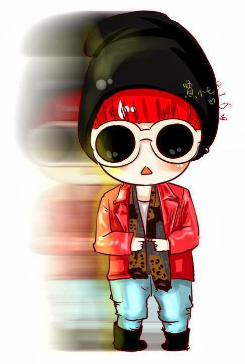 Chibi G-Dragon :: Bộ ảnh Chibi Big Bang siêu đẹp siêu cute