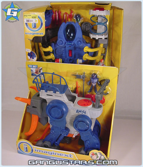 Imaginext Space Aliens Alpha Walker Explorer Action Tech Fisher-Price アメコミ イマジネックスト