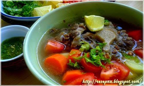 Resep Sahur Ramadhan Sup Buntut Spesial