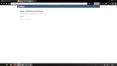 Facebook Eror 19 Juni 2013