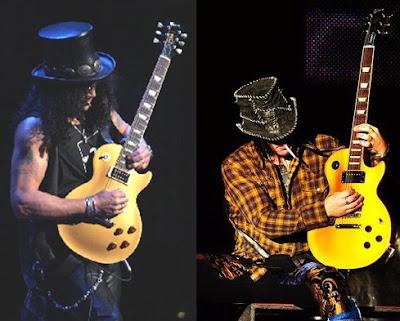 Guns N' Roses: Slash e DJ Ashba, as semelhanças