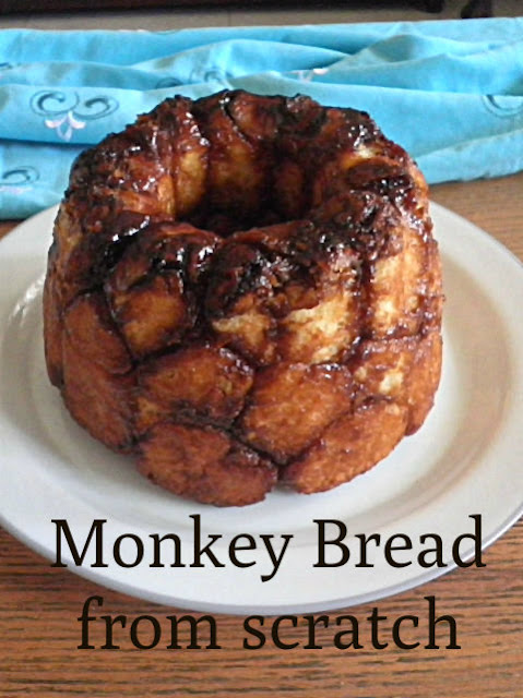 Monkey Bread From Scratch Recipe @ treatntrick.blogspot.com