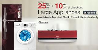 Large Appliances upto 25% off