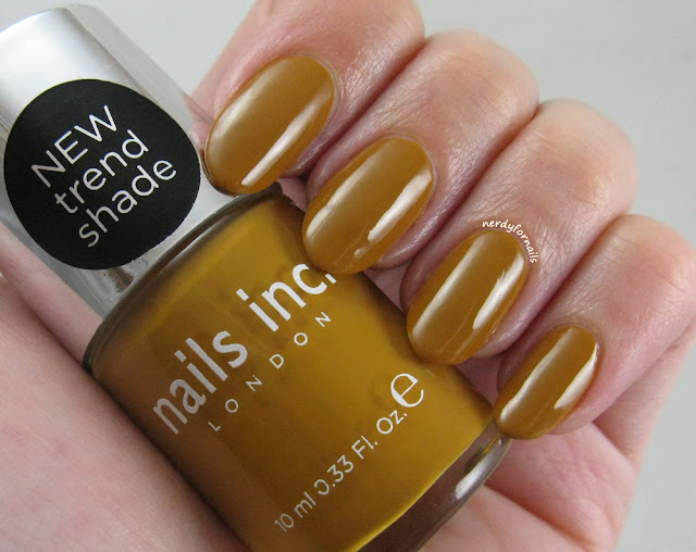 Nails Inc Hampstead Gardens Ugliest Yellow Polish Ever