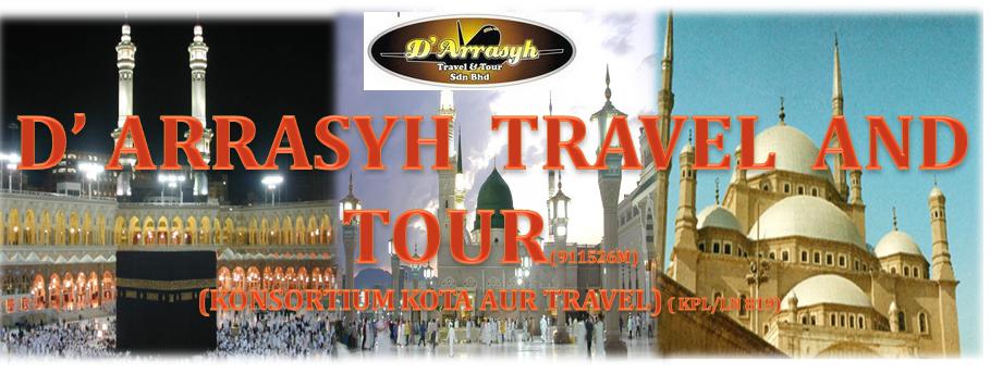 D' ARRASYH TRAVEL AND TOUR, PAKEJ UMRAH PROMOSI 2014, PAKEJ UMRAH CUTI SEKOLAH DISEMBER 2013