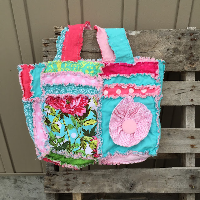Pink Diaper Bag