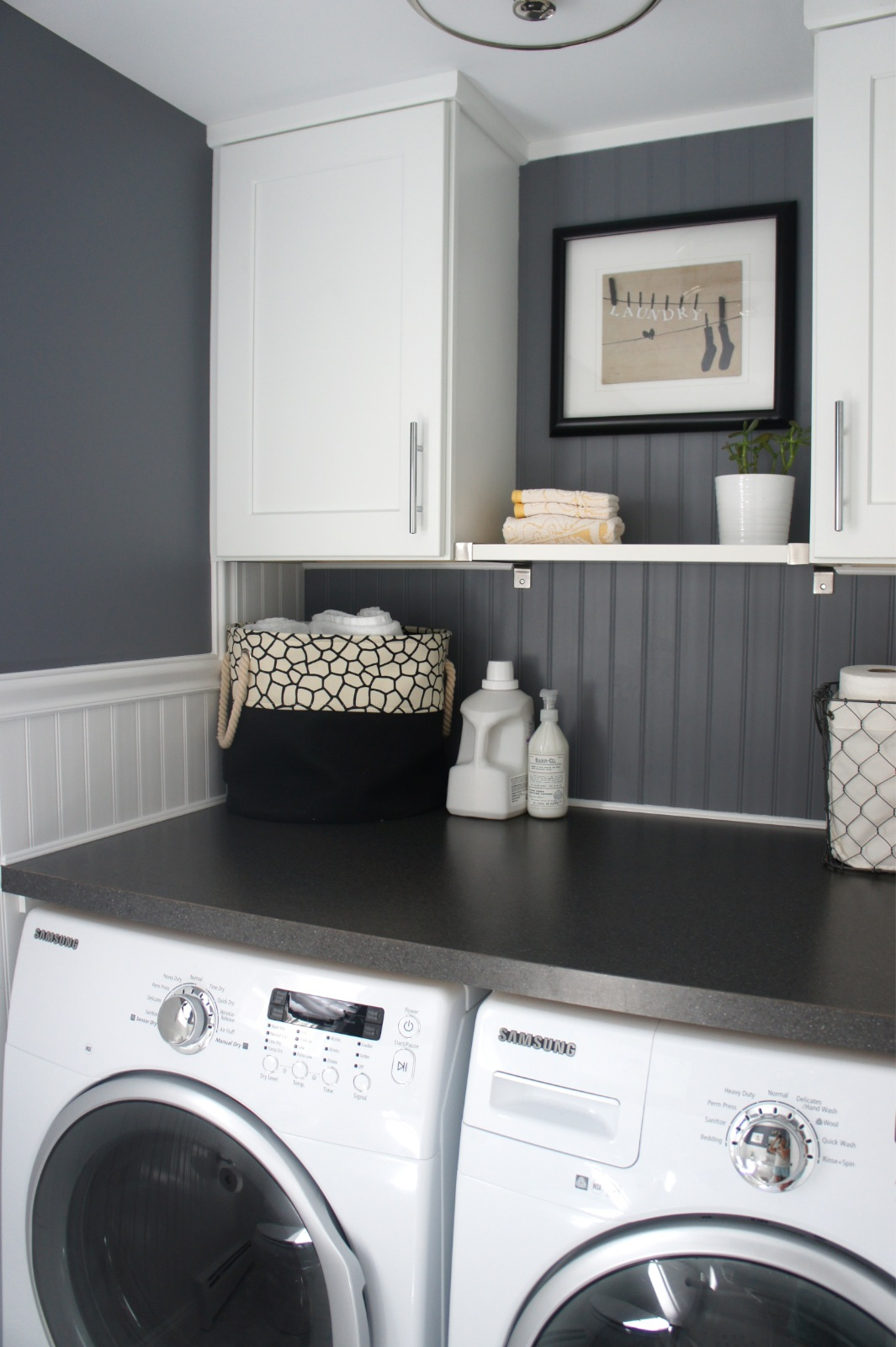home with baxter house tour week 5 half bath laundry room reveal you can check out past weeks of my house tour here have a great weekend