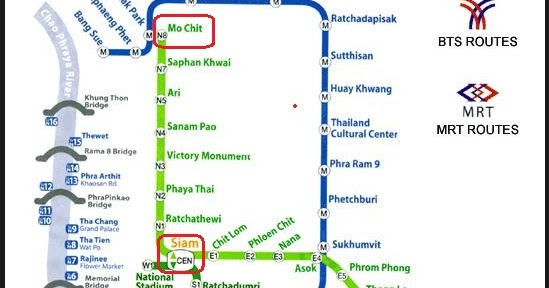 how to get to mo chit bus station