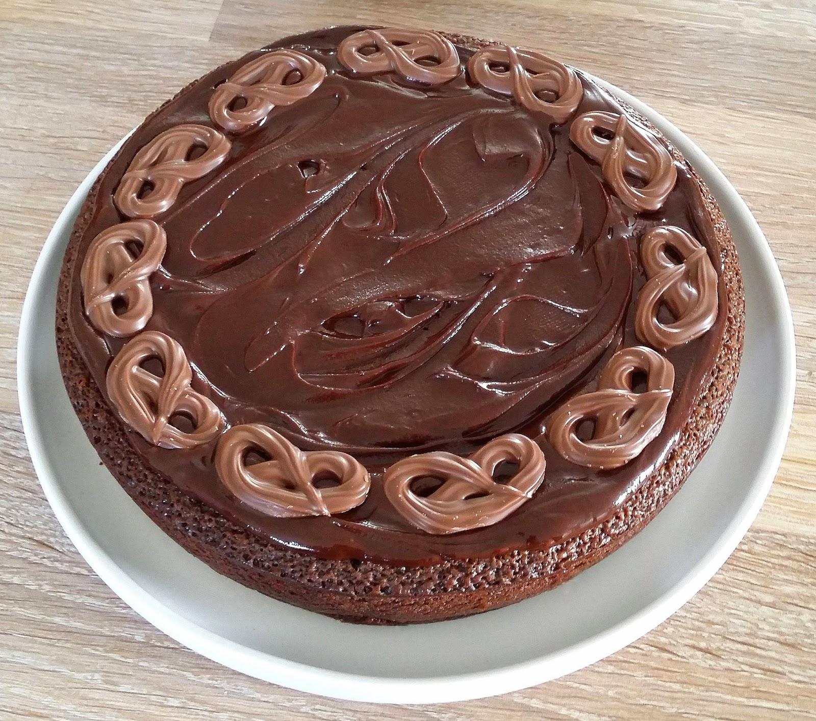 kage med nutella