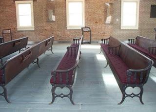 Seneca Falls Wesleyan Chapel Pews Updated