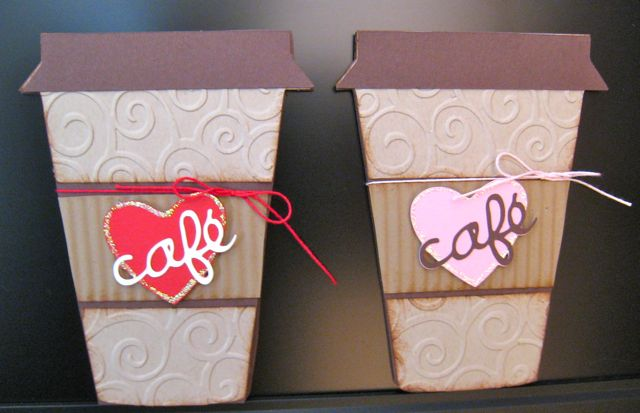 Coffee Holder Template Coffee Cup Gift Card Holders