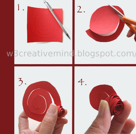Creative mindp paper flower paper flower is too much easy to make and by this flower we can decorate our home beautiful and its very good creeativity mightylinksfo