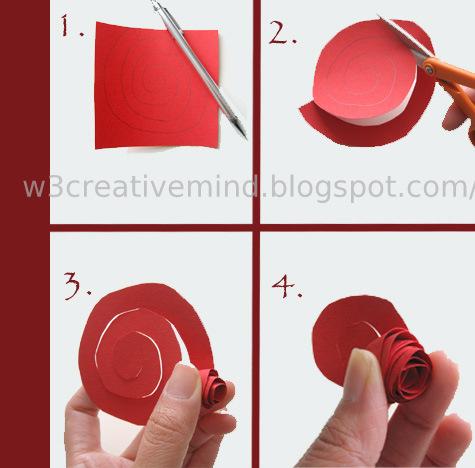 Creative Mindp Paper Flower