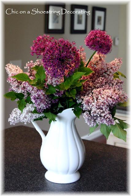 lilac arrangement
