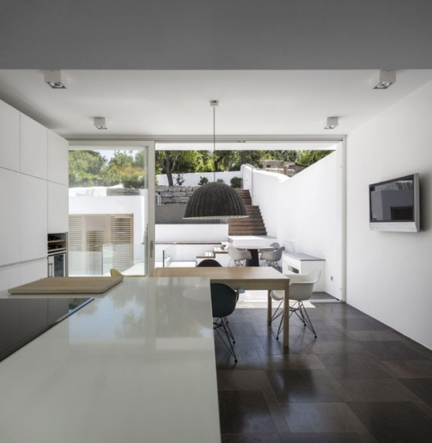 Modern Minimalist Home Design Ultra Minimalist Home Design Idea With Living Behind The Walls Concept
