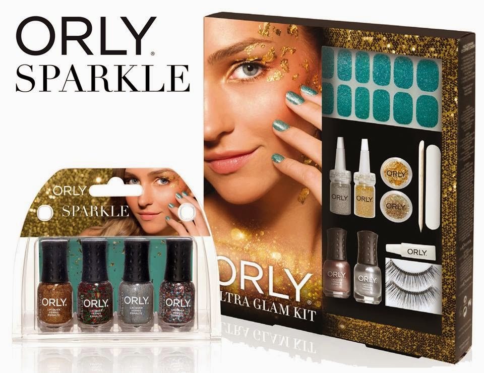 orly mani mini kit, ultra glam kit natale 2014
