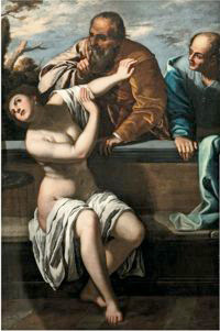 Suzanne et les vieillards, Artemisia Gentileschi, © Archivio Fotografico del Museo Biblioteca e Archivio Bassano del Grappa