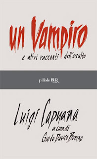 Un vampiro e altri racconti dell'occulto, 2011, copertina