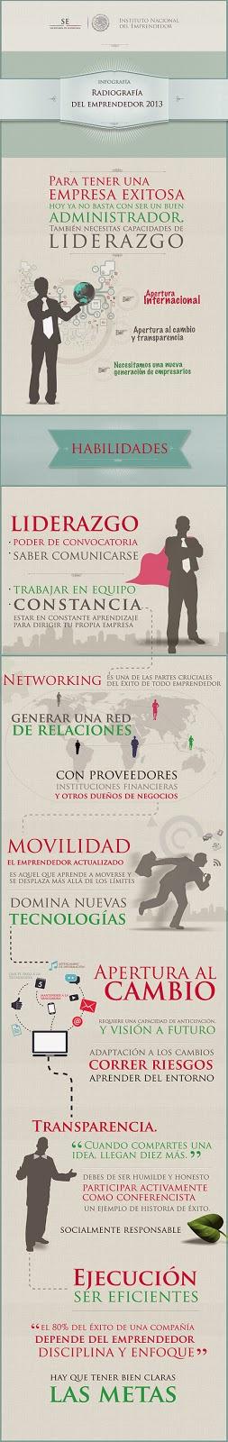 Infografía: La Radiografía del emprendedor.