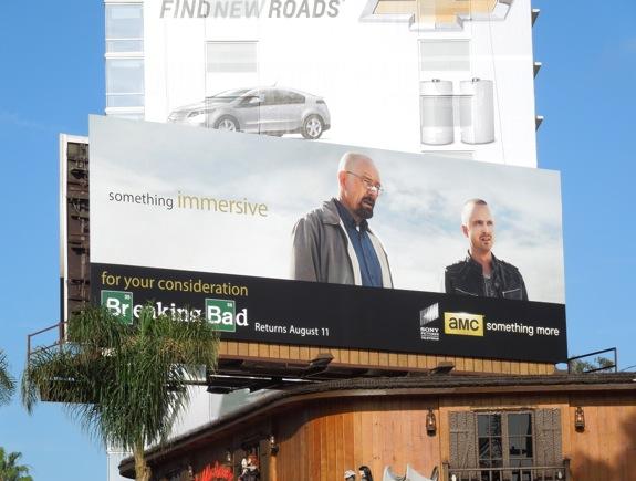 Breaking Bad 5 Something Immersive billboard