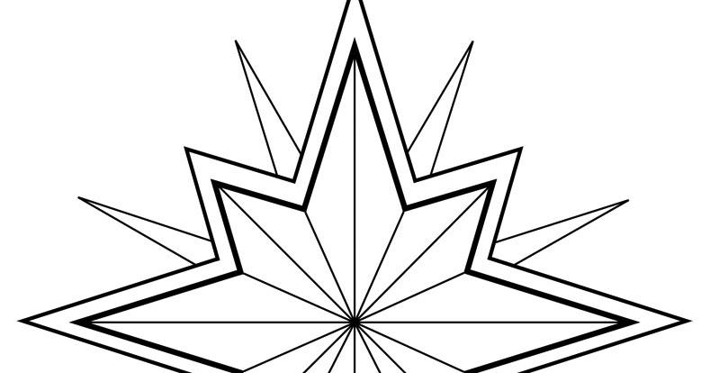 Colorear Pintar: Estrella para Colorear