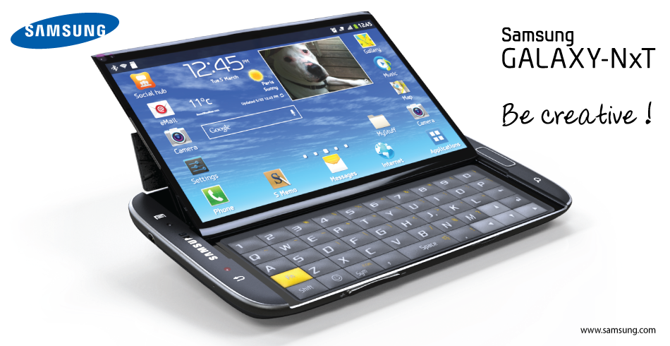 Samsung Galaxy Nxt Phablet Concept Spicytec