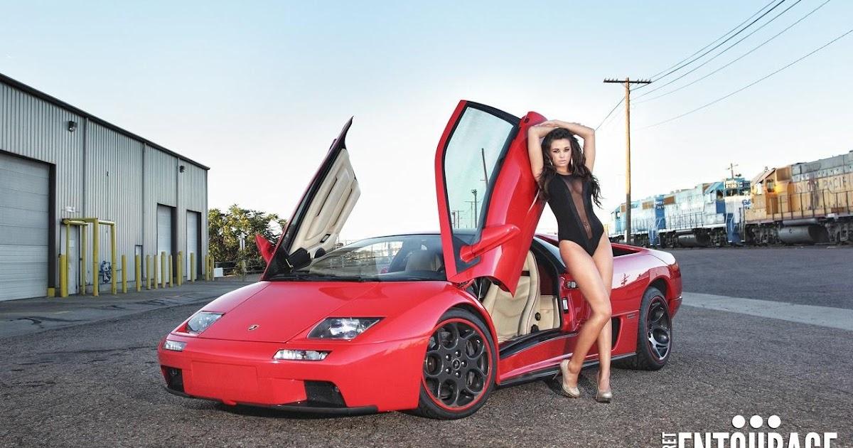 All Cars Nz 1993 Lamborghini Diablo Vt Sexy Babe