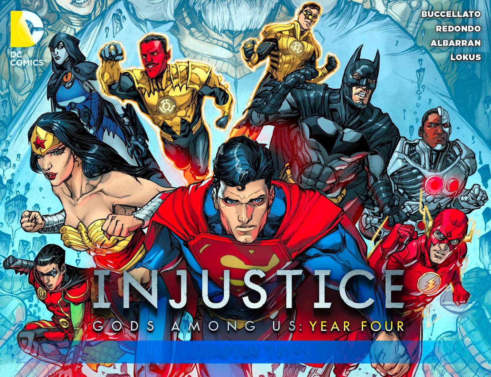 "El Blog de Batman: Reseña: ""Injustice: Gods Among Us - Year Four"" #1 ..."