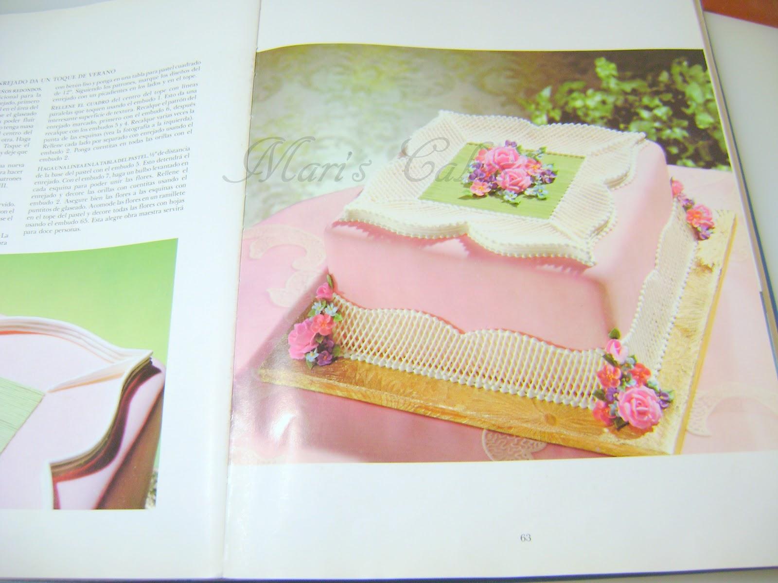 Libros de decoracion de bizcochos mari 39 s cakes for Libros de decoracion