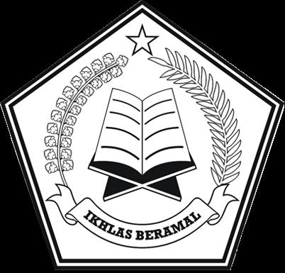 Logo Kemenag (Kementerian Agama) Depag (Departemen Agama) versi Hitam Putih