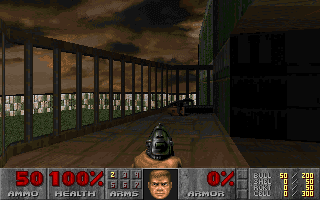 doom 2 level 1 chainsaw