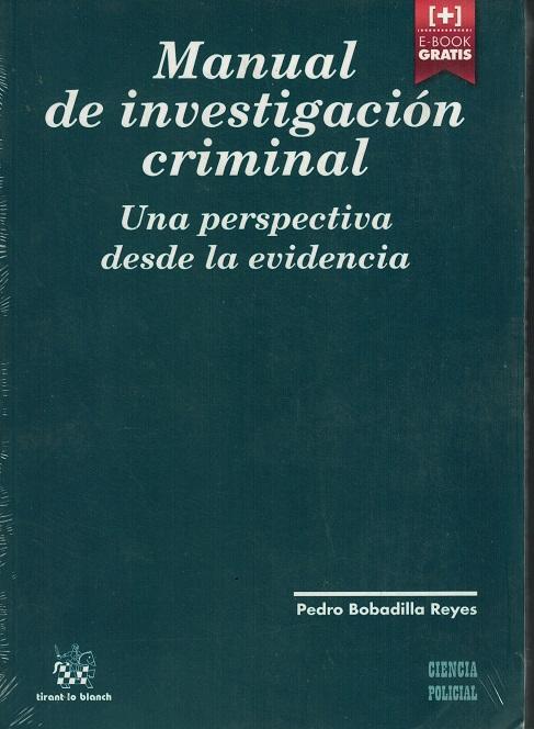 MANUAL DE INVESTIGACION CRIMINAL