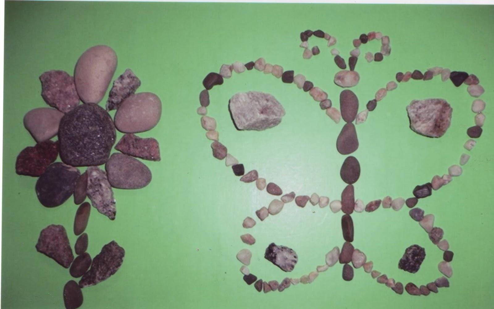 Фото поделок из камушек - Детские поделки своими руками. Летние и осенние поделки из