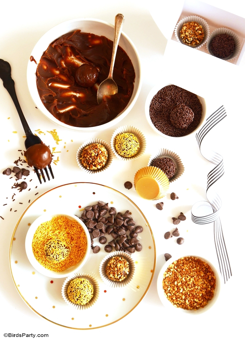 Party Food | Brazilian Brigadeiro Truffles | PARTY BLOG by BirdsParty ...