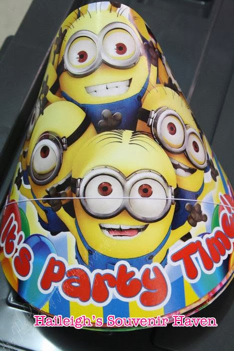 DESPICABLE ME (MINIONS) PARTY GIVEAWAYS AND SUPPLIES