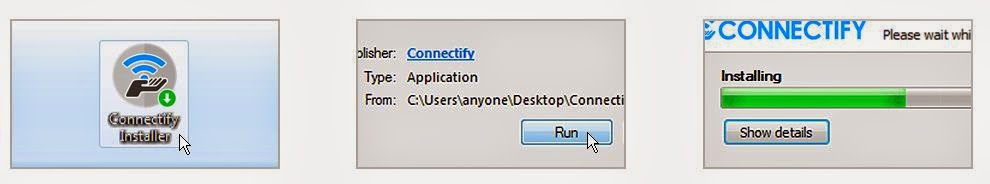 aplikasi sofware Connectify Me