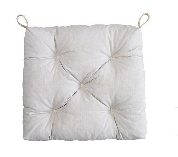 Life Naturally I LOVE IKEA HOME DECOR – White Chair Pad