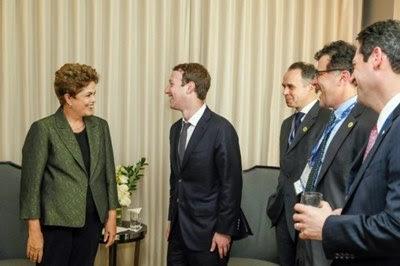 Acordo de Dilma com o Facebook viola a liberdade e visa o absolutismo na internet