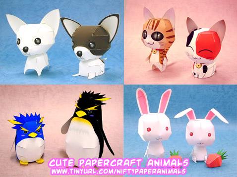 Ninjatoes 39 papercraft weblog d l cute papercraft for Cute paper crafts