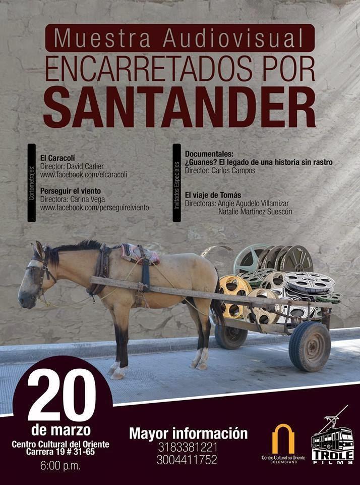 MUESTRA AUDIOVISUAL ENCARRETADOS POR SANTANDER.