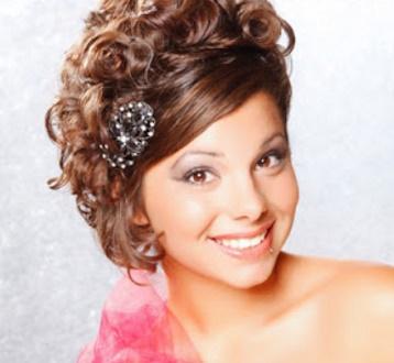La moda en tu cabello peinados para fiestas de promoci n - Peinados de fiesta melena corta ...
