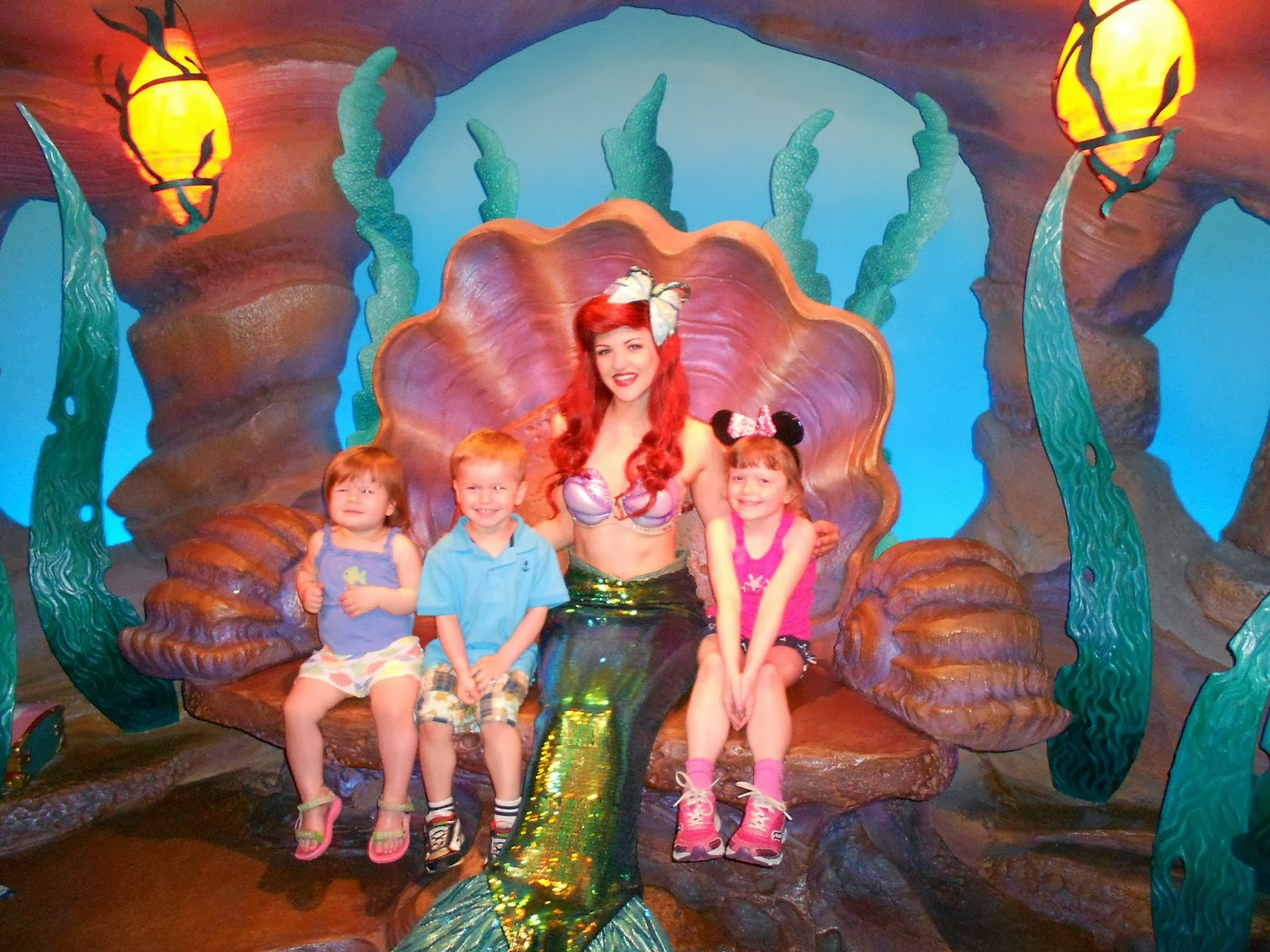 Adventures with toddlers and preschoolers ariel and prince eric my children could not wait to meet ariel at the magic kingdom at the new ariel meet n greet in fantasyland this was the highlight of my childrens day m4hsunfo