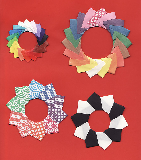 Origami Maniacs Origami Ring From Mette Units By Mette Pederson