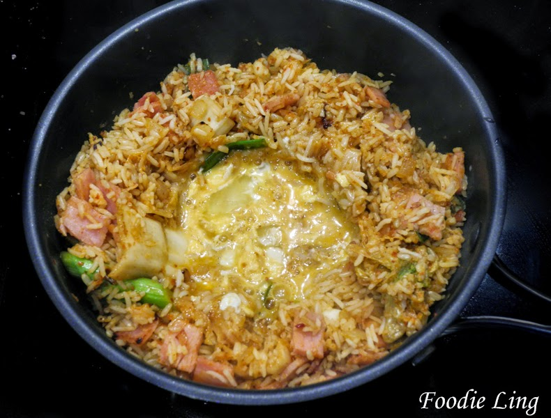 Foodie Ling: Kimchi Fried Rice Recipe